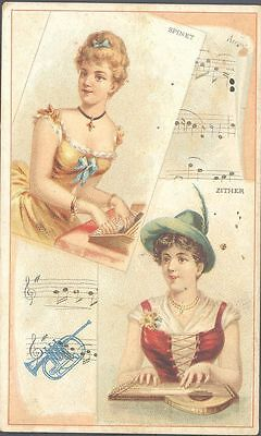 Duke - Musical Instruments of the World - Spinet and Zither