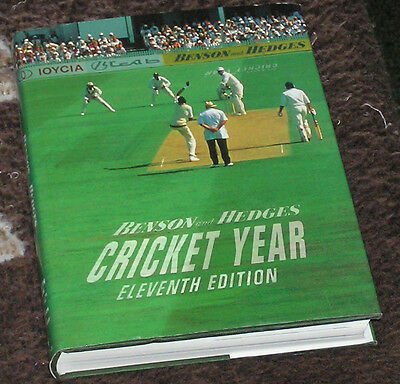 Benson & Hedges Cricket Year Eleventh Edition 11 hardback book 1991 1992
