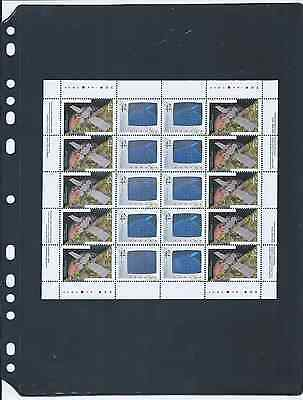 ANCHOR (Black sheets/Double Sided) 5 New Stock Pages Pack 1S (1- rows) Sheets