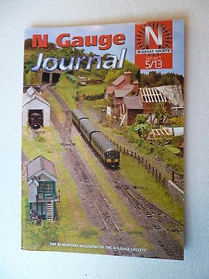 Railway N Gauge Society Journal 5/13  Sep - Oct  2013