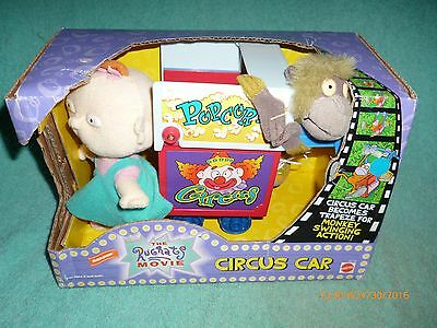 Vintage The Rugrats Movie Circus Car Boxed