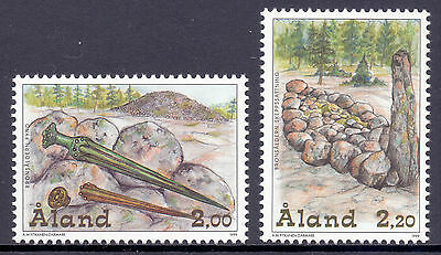 ALAND 1999 stamps The Bronze Age um (NH) mint Antiquities