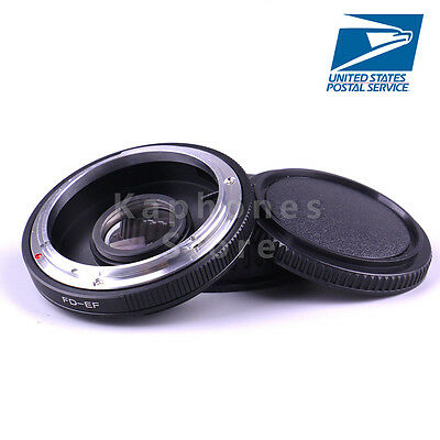 US Pixco Mount Adapter Ring For Canon FD Lens to Canon EOS EF Camera