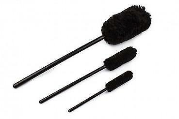 3 Piece Wheel Cleaning Brushes Set - Wheel Woolie Style