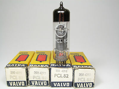 4 x NOS PCL82-16A8-VALVO-OWN BOXES