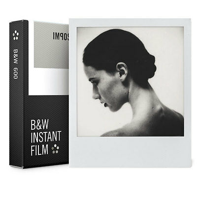 Impossible Project, Polaroid 600 B&W 2.0 Film Pack - NEW