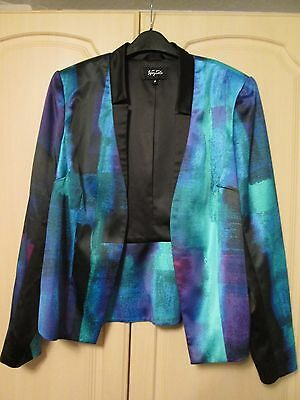 Marks & Spencer Green mix special occasions Jacket size UK 16 (NWT)