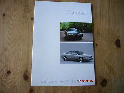 Toyota Camry brochure, 1998, excellent condition