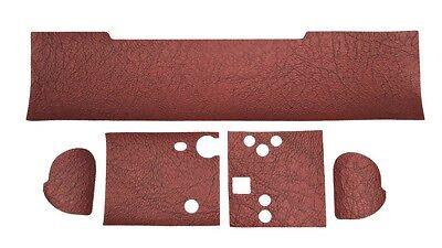 Complete Red Leathette Covers Set or Alpa 9,10,11  #1