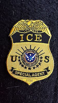 Ice Customs Jacket Patch Badge Police Rare