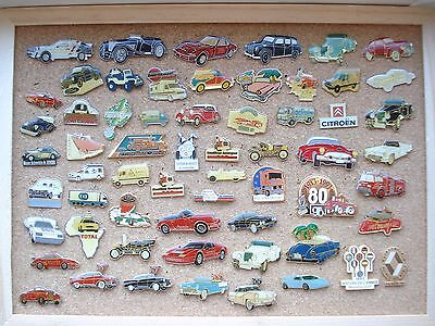 Cars Automobile Classic Car Motor Rare Old Vintage Pin Badge Job Lot Bundle 60