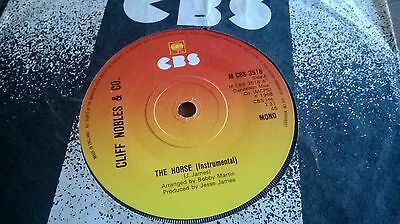 "Cliff Nobles - The Horse Uk 7"" Cbs Northern Soul"