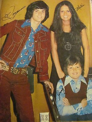 Donny and Marie Osmond, Jimmy, Full Page Vintage Pinup