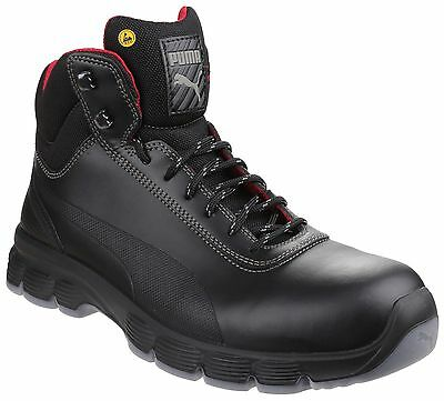 17c3ba97e43 PUMA PIONEER MID Water Resistant Safety Mens Steel Toe Cap Work Boots UK6-12