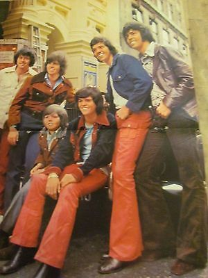 The Osmonds, Donny Osmond, Brothers, Two Page Centerfold Poster