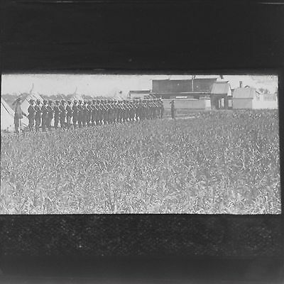 Magic Lantern Slide Chinese Soldiers Uniforms China Military  Social History