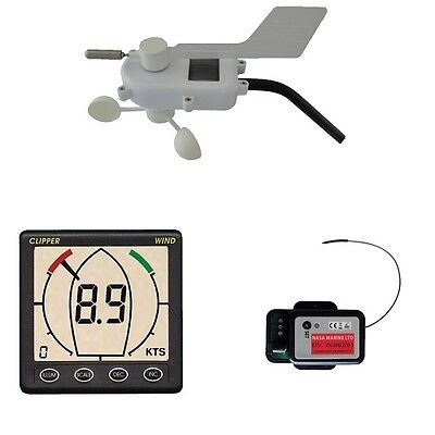 NASA Clipper Wireless Wind System with Wireless Masthead Unit Data Box & Display