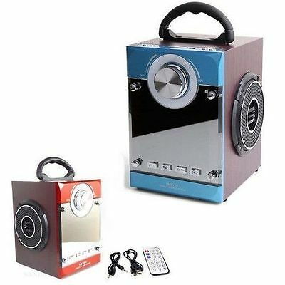 Radio Portatile Lettore Speaker Bluetooth Ricaricabile Cassa 8 X 2 Watt 35Bt Usb
