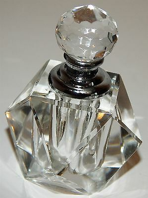 Beautiful Crystal Perfume Bottle With Dabber