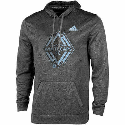 Vancouver Whitecaps FC adidas Split Up climawarm Pullover Hoodie - Black - MLS