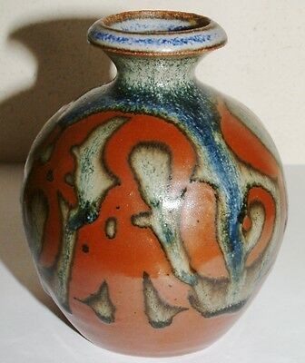 Lovely Decorative Small Pottery Vase Keramos or Remaros 9.5cm high
