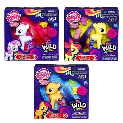 My Little Pony Wild Rainbow Cutie Mark Crusaders Exclusive Doll Toy