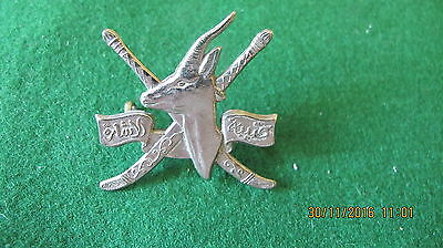 Unkown Military Possibly Africa Or Middle East Cap Badge
