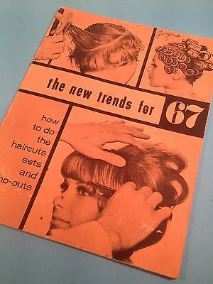 "Haarmoden "" the new trends for1967 "", original"