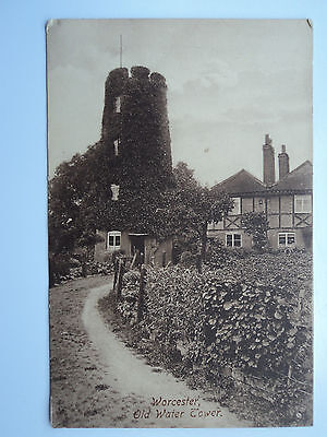 Frith's vintage B&W PC Worcester, Old Water Tower. Unposted. 1906.
