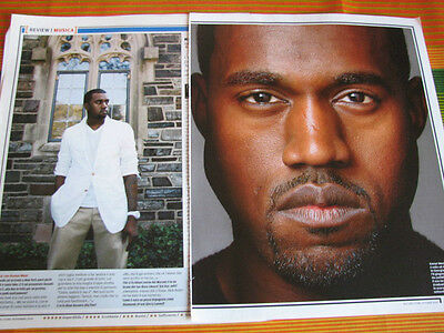 Kanye West 13 Italian Us Magazine Clippings Articles Pinups
