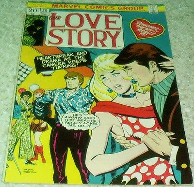 Our Love Story 25, (VF- 7.5) Marvel 1973, 40% off Guide!