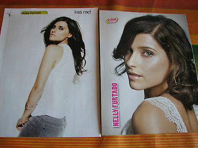 Nelly Furtado 18 Italian Magazine Clippings Pinups Articles