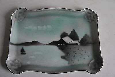 Moschendorf Porcelain Hand Painted Tray