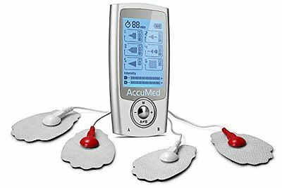 AccuMed AP212 Portable TENS Unit Electronic Pulse Massager with 16 Modes