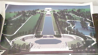 National World War II Memorial Poster in Tube 20x16""