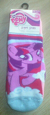 My Little Pony Twilight Sparkle Slipper Socks. Size UK 6-8.  BNWT