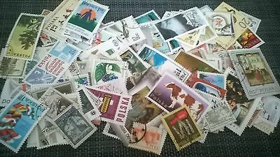 Poland 150 Stamps All Different