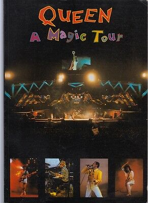 Queen A Magic Tour June 4th 1986 European Tour Paperback Book