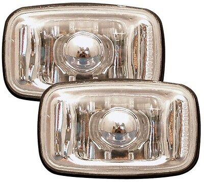 Toyota Celica 90-96 Crystal Clear Chrome Side Light Repeater Indicators