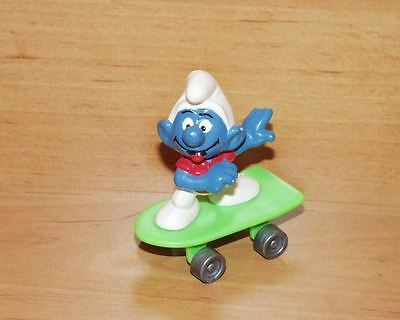 ** GRÜNES APPLAUSE SKATEBOARD ** smurf smurfs