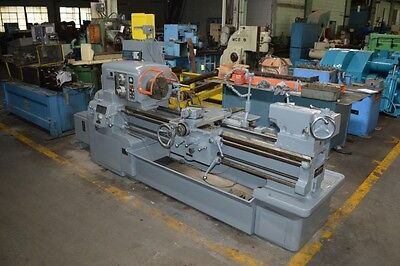 "20"" x 54"" MONARCH ""DYNASHIFT"" ENGINE LATHE W/TAPER & DIGITAL READOUTS - #27919"