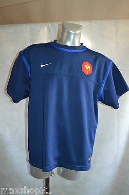 Maillot Sweat  Nike Equipe De France  Rugby Taille Xl /haut Ffr