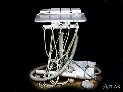 Beaverstate Dental Doctor Delivery System Cart w/ 2 5-Hole Handpiece Connections