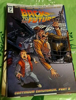 Back To The Future #7 Idw Comics