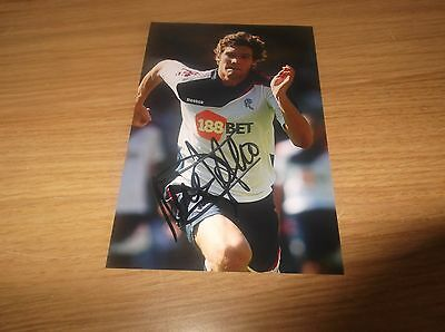 Bolton Wanderers fc Marcos Alonso signed 6x4 action photo