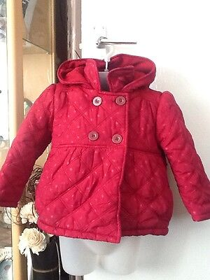 Lovely Nutmeg Coat Age 3-4 Years