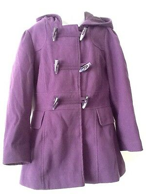 Lovely George Purple Duffle Coat Age 7-8 Years