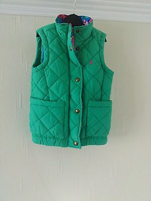 Girls Green Gilet ~ Age 3 years ~ Joules