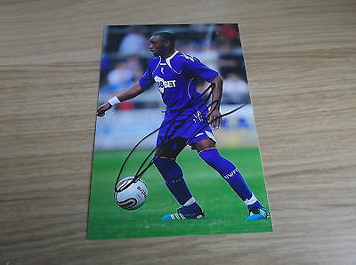 Bolton Wanderers fc Nigel Reo-Coker signed 6x4 action photo