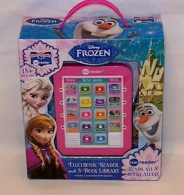 Frozen Me Reader Electronic Reader and 8-Book Library